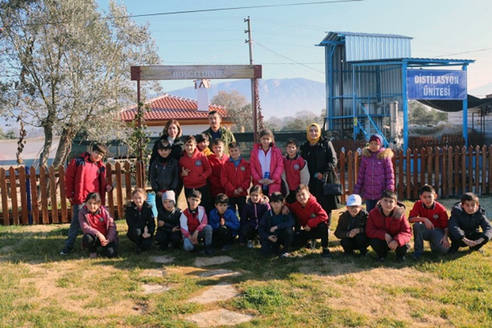 Öğrencilere Muğla'nın yerel tohumları anlatıldı