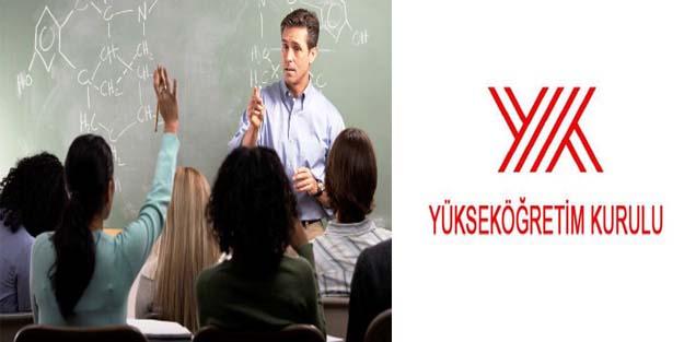 Öğretim Üyesi Yetiştirme güz dönemi kontenjanları