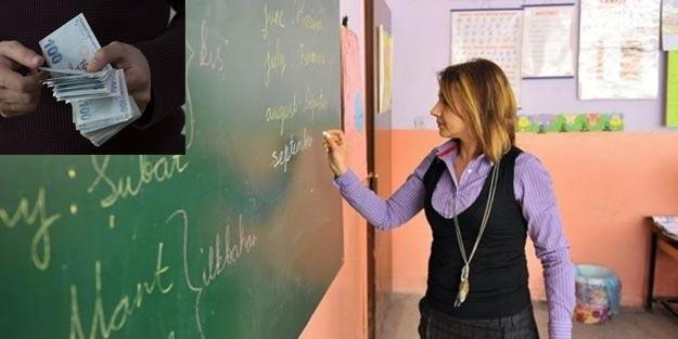 Öğretmen maaşları ne kadar? Öğretmenlere ne kadar ikramiye verilecek?