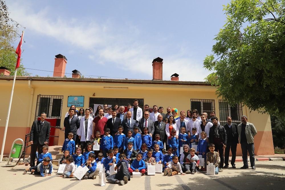 Oğuzeli'nde eğitime yatırımlar sürüyor