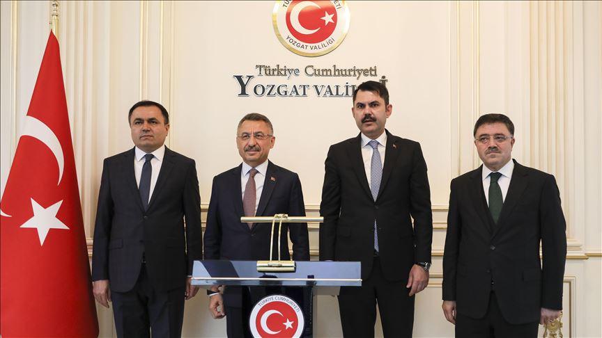 Oktay ile Kurum Yozgat Valiliğini ziyaret etti