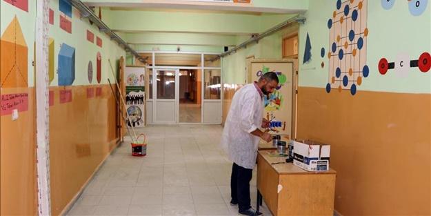 Okulların temizliği öğrencilerin sağlığını etkiliyor