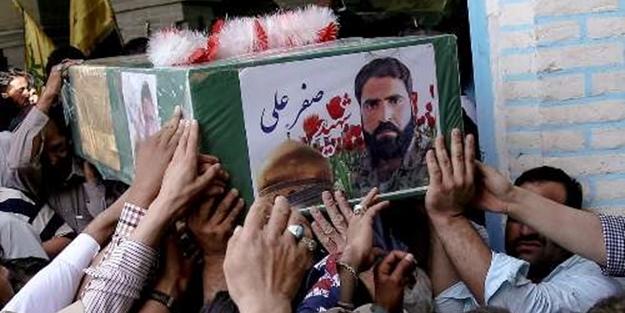 Öldürülen 7 Terörist daha İran'da gömüldü