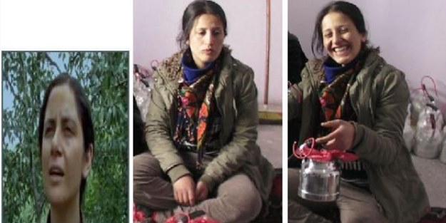 Öldürülen kadın terörist, şarkı söyleyerek bomba hazırlayanlardanmış