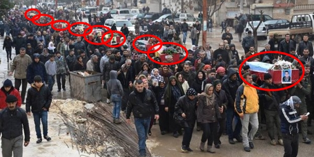 Öldürülen teröristler topluca gömülmeye götürüldü
