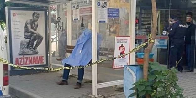 Ölüm durakta yakaladı! Minibüs bekleyen adam durakta can verdi