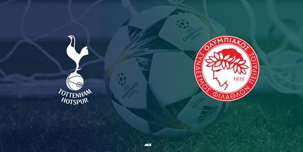 Olympiakos Tottenham Şampiyonlar Ligi maçı saat kaçta hangi kanalda?