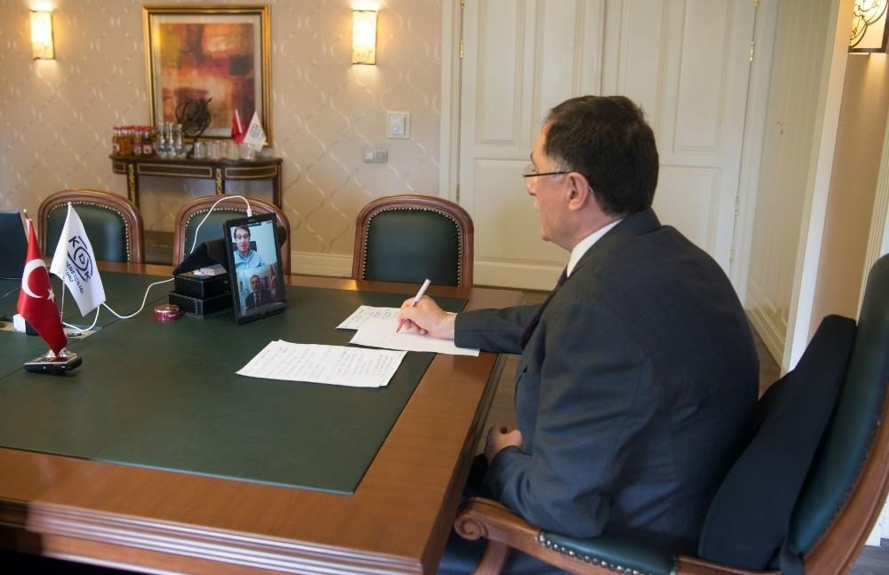 Ombudsman Malkoç, video konferans yoluyla gençlerin sorularını yanıtladı