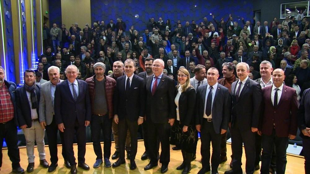 Ömer Çelik, Dr. Tahir Ateş'e destek istedi