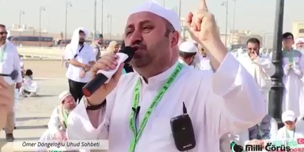 Ömer Döngeloğlu Hoca'nın duası kabul mü oldu? Uhud'da yaptığı dua ortaya çıktı