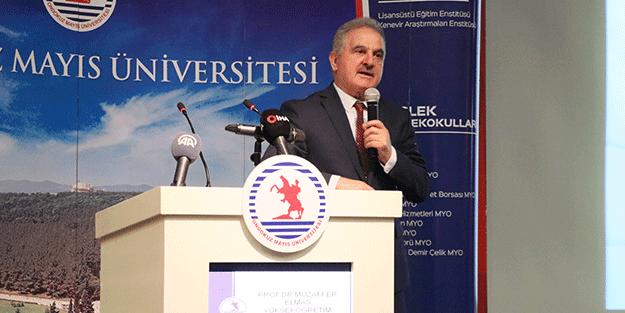 OMÜ'nün 2021-2022 akademik yılı açıldı