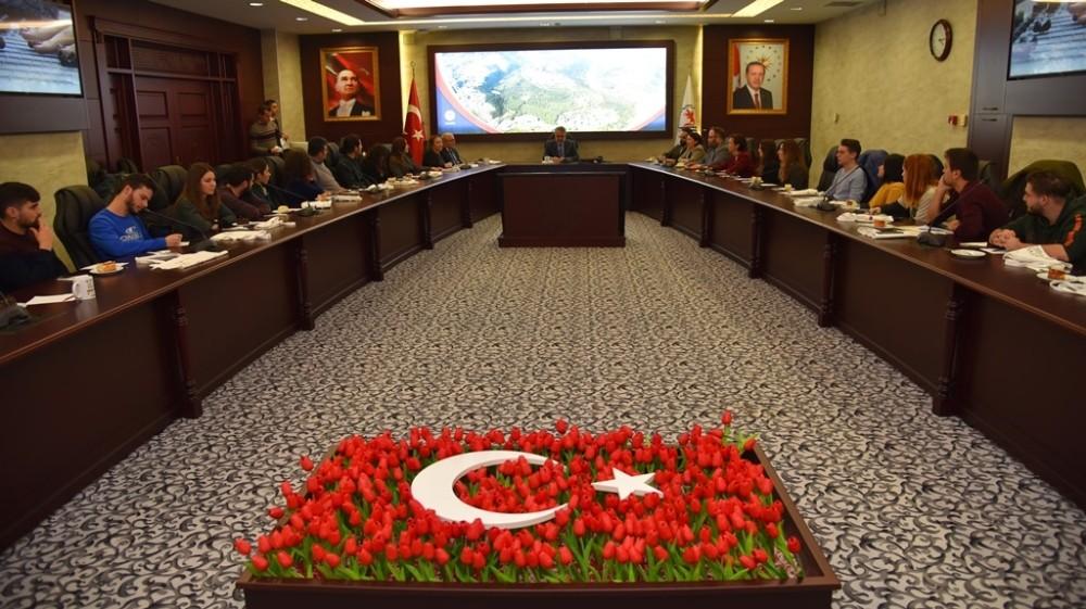 OMÜ'nün projesine 6 farklı ülkeden 39 katılımcı