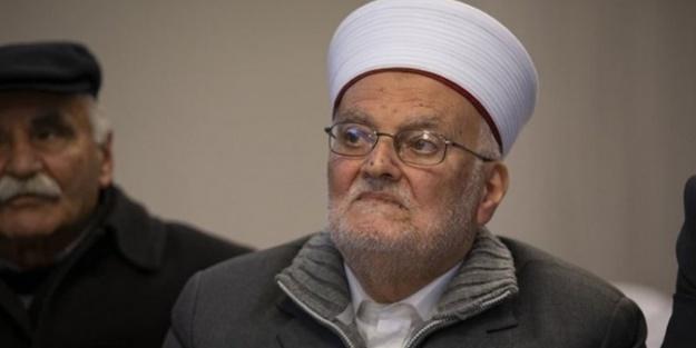 Omuzlara alındı! Şeyh İkrime Sabri, teröristlerin yasağını deldi