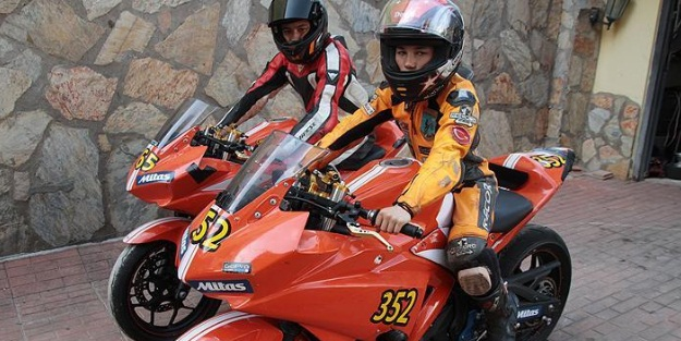 Öncü kardeşler, Japonya'da yarışacak