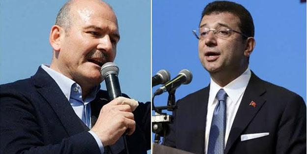 'Önümüzdeki seçimlerde görürüz' Ekrem İmamoğlu mu, Süleyman Soylu mu?