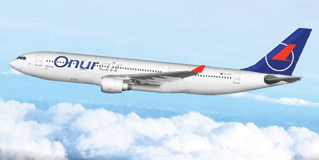 Onur Air'in A330 sayısı 11'e yükseldi