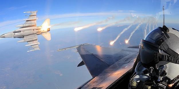 Operasyon için havalanan 72 uçağın sırrı