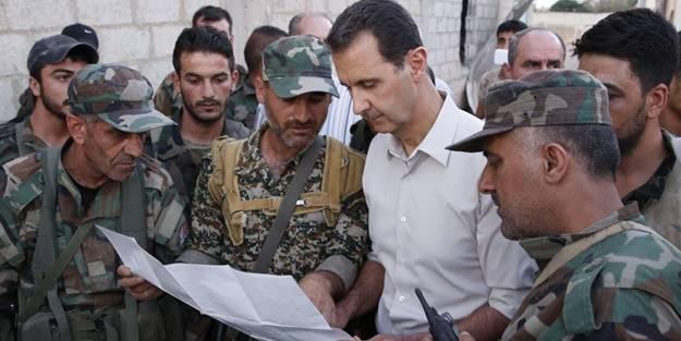 Operasyon sinyali sonrası katil Esed'den teröristlere koruma kalkanı