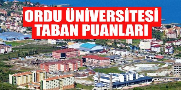 Ordu Üniversitesi 2019 taban puanları