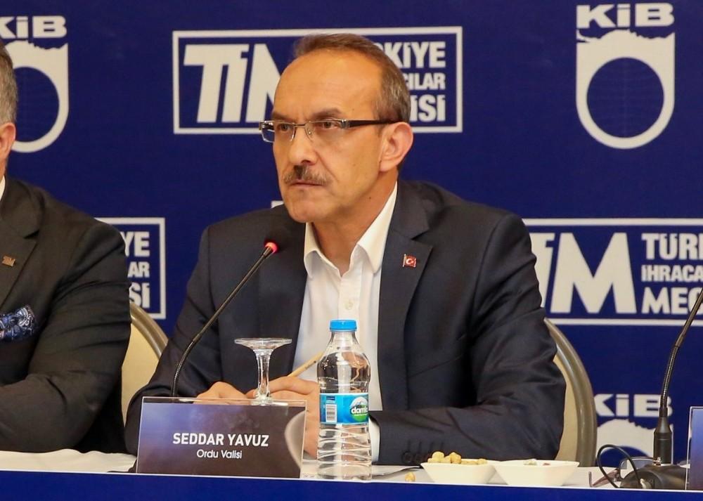 """Ordu Valisi Yavuz: """"Ordu lojistik merkez olacak"""""""