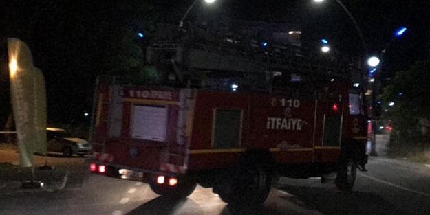Ordu'da fabrikada yangın çıktı