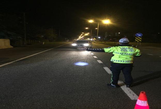Ordulu sürücülere kırmızı ışık cezası
