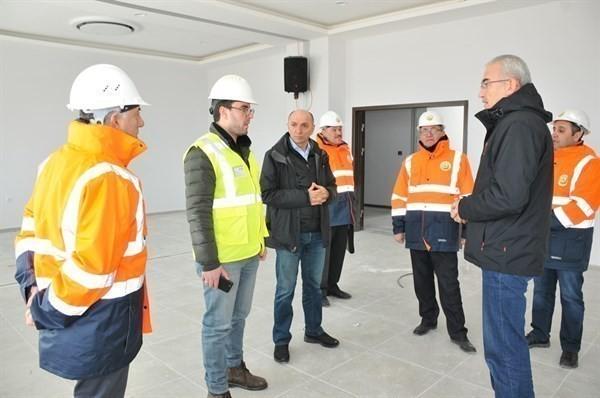 Orman Genel Müdürü Karacabey, yeni hizmet binasını inceledi