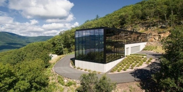Ormanın içindeki inanılmaz ev!