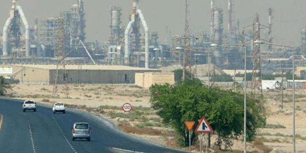 Orta Doğu ülkesi dünyaya duyurdu! Petrol rafinerisinde yangın