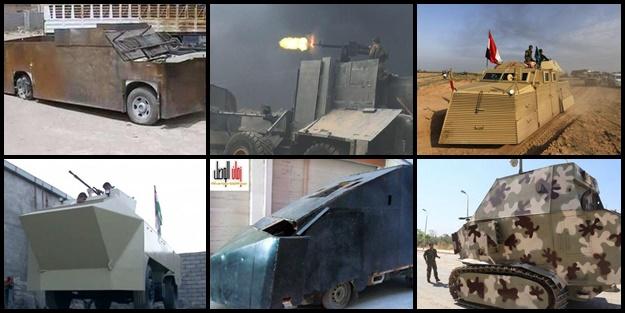 Ortadoğu'nun tuhaf silahları - FOTO