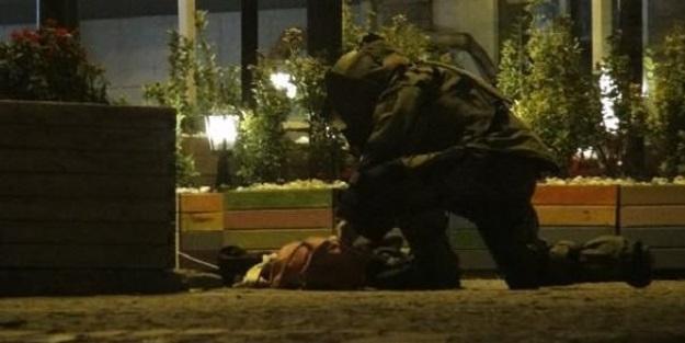 Ortaköy'de şüpheli çanta alarmı