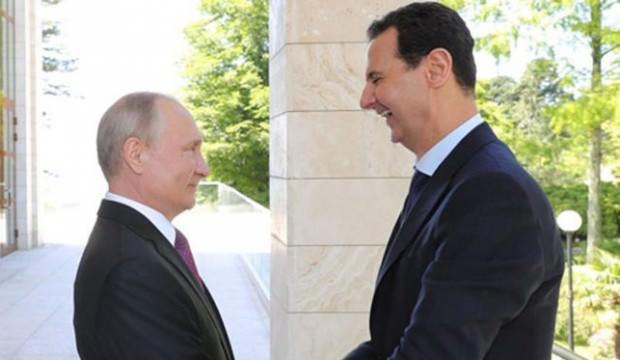 Ortalık karışmıştı... Esed'ten Vladimir Putin'e mesaj