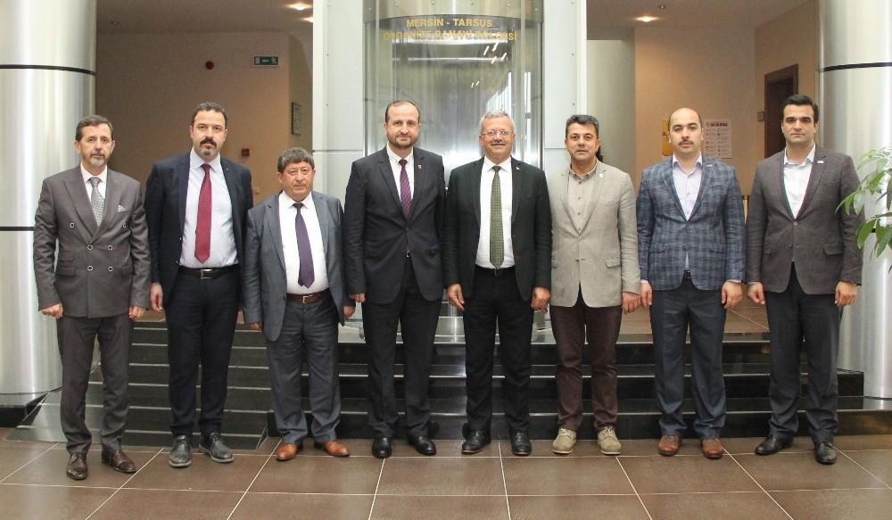 OSB Bölge Müdürleri MTOSB'de buluştu