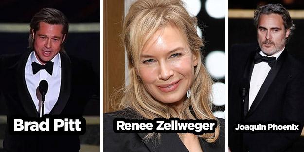 Oscar törenine damga vurdular! Brad Pitt kimdir? Renee Zellweger kimdir? Joaquin Phoenix kimdir?