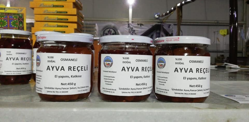 Osmaneli Belediyesi yöresel ürün çeşitlerine üç yeni ürün daha kattı