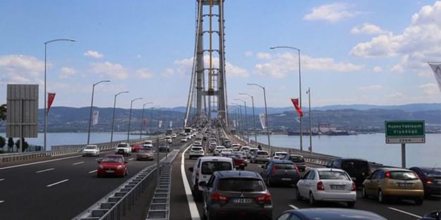 Osmangazi Köprüsü'nde fahiş oranlarda zam!