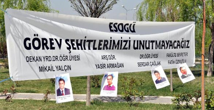 Osmangazi Üniversitesi'nde yeni rektör Şenocak göreve başladı