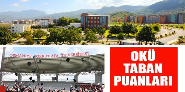 Osmaniye Korkut Ata Üniversitesi tabun puanları 2019