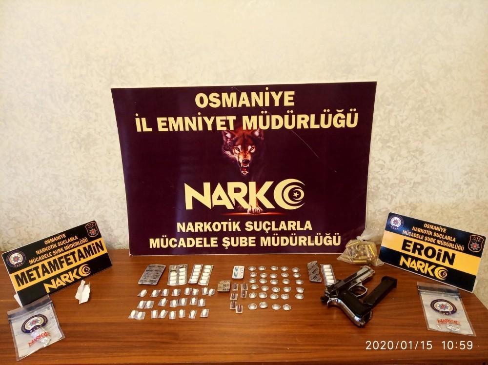 Osmaniye'de narkotik uygulamasında 6 kişi yakalandı