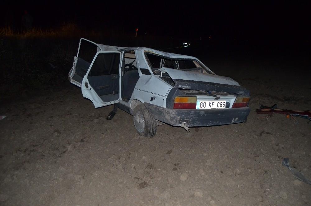 Osmaniye'de trafik kazası 3 yaralı