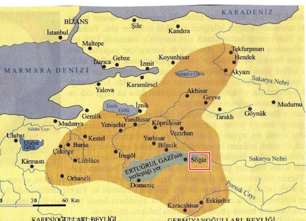Osmanlı Beyliği'nin ilk başkenti olan Söğüt nerededir? İşte merak edilen Söğüt sorusunun cevabı