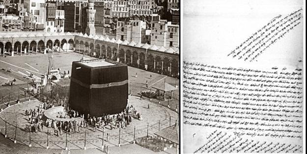 Osmanlı'da dikkat çeken uygulama: Kabe'nin örtüsüne karantina