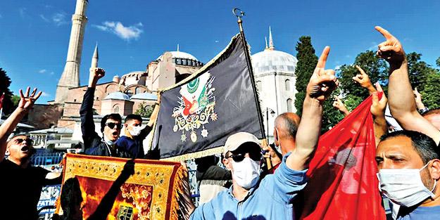 Osmanlılar tekrar Ayasofya'yı fethetti