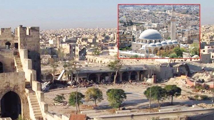 Osmanlı'nın 24 eseri Halep'te yerle bir oldu!