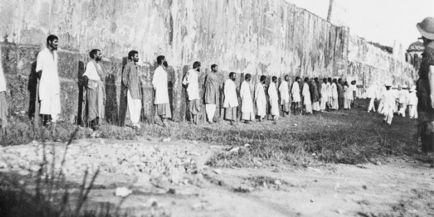 Osmanlı'ya karşı savaşmak istemeyen askerler kurşuna dizildi