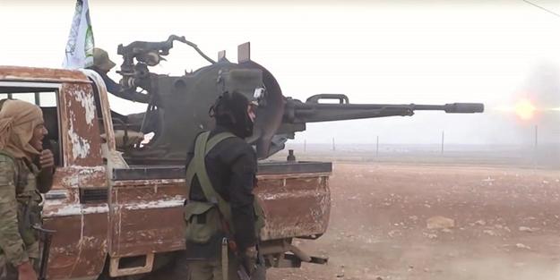 ÖSO, PYD/PKK'yı bozguna uğrattıı!