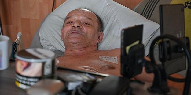 Ötanazi talebi geri çevrilen hasta, 'açlık grevine' son verdi