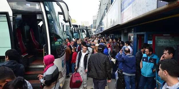Otobüs bayram ek seferleri var mı? Ek otobüs seferleri ne zaman başlayacak?