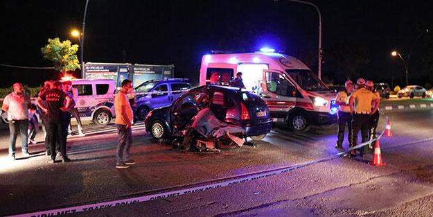 Otomobil ve motosiklet çarpıştı: Ölü ve yaralılar var