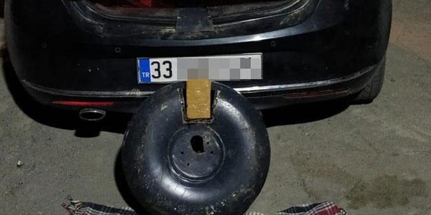 Otomobilin LPG deposunda 20 kilo eroin bulundu
